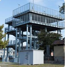 ご利用事例 防災避難塔の非常用電源