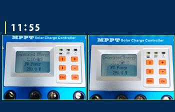 MPPT充電コントローラーモニター画面10