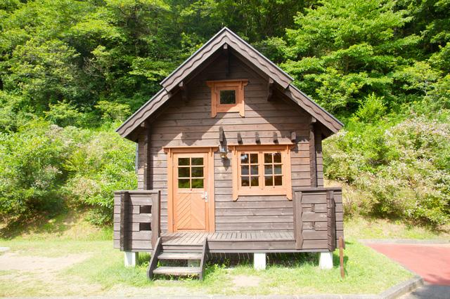 ご利用事例 ログハウス、山小屋の電源