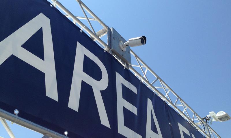 ご利用事例 監視カメラの電源